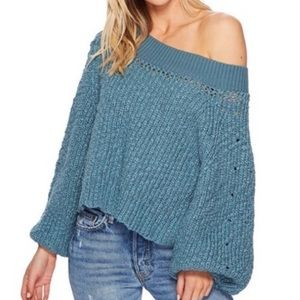 Free People - Pandora Boat Neck Sweater